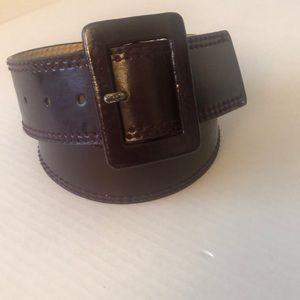 Calvin Klein Belt SZ Small. Burgundy.
